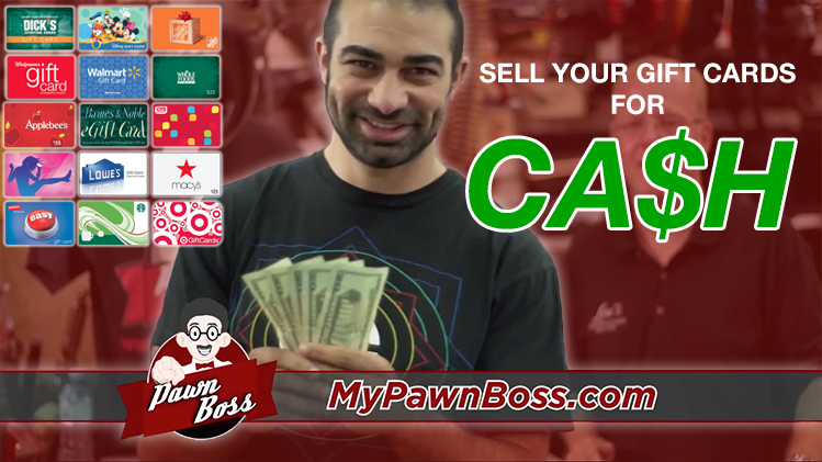 Sell Gift Cards For Cash Lou S Jewelry Pawn Shoplou S Jewelry